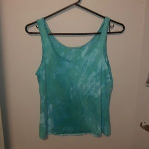 Tops - Hand Dyed cropped tank